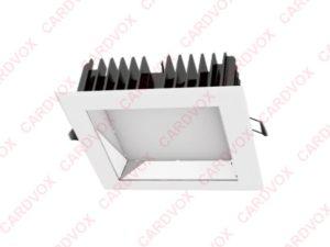 spot carr encastrable 35w 205mmx205mm 1000 et une lumi res. Black Bedroom Furniture Sets. Home Design Ideas
